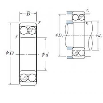 25 mm x 62 mm x 24 mm  NJ 2305 ET Cylindrical roller bearing NSK NJ2305 ET Bearing Size 25x62x24
