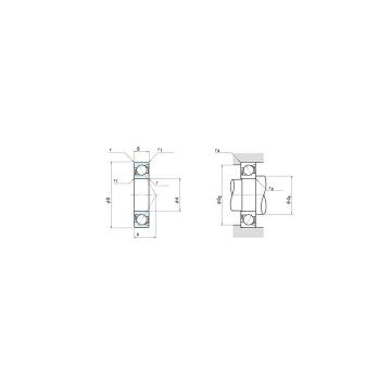 NSK 7014C Angular Contact Bearing 70x110x20 Abec-7 Japan Bearing NSK 7014CTYNSULP4