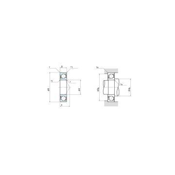 NSK 7224A Angular contact ball bearing 7224A Bearing size: 120x215x40mm