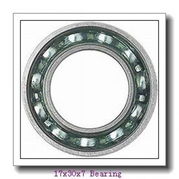 High speed fan bearing 71903CDGA/HCP4A Size 17x30x7