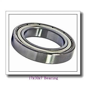 Low noise Angular contact ball bearing 71903ACDGA/P4A Size 17x30x7