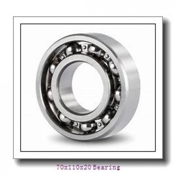 High precision Spindle Bearings 7014 Single Row Bearings Angular Contact Ball Bearing 70x110x20 mm