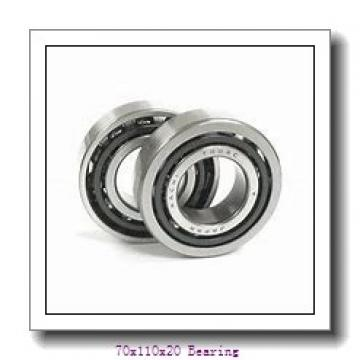 Free Sample 6014 OPEN ZZ RS 2RS Factory Price Single Row Deep Groove Ball Bearing 70x110x20 mm