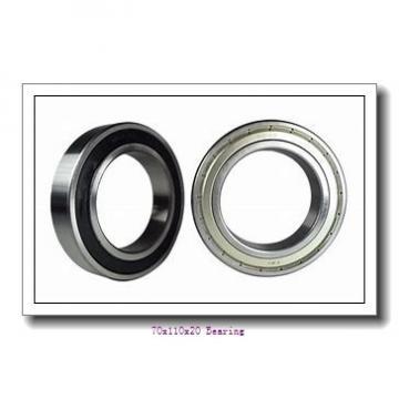 B7014-E-2RSD-T-P4S Spindle Bearings 70x110x20 mm Angular Contact Ball Bearing B7014.E.2RSD.T.P4S
