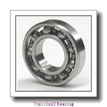 7014 C Angular contact ball bearing 70x110x20