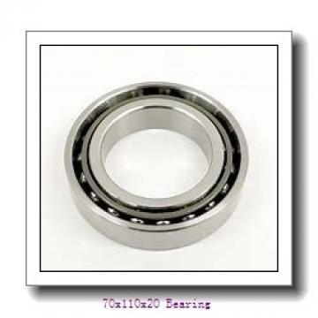 70X110X20 mm Deep Groove Ball Bearing 6014 ZZ 6014 2Z