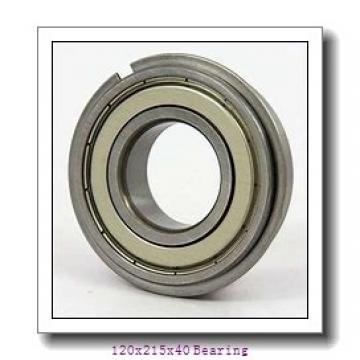 Long life steel mill Angular contact ball bearing QJ224N2MA/C4B20 Size 120x215x40